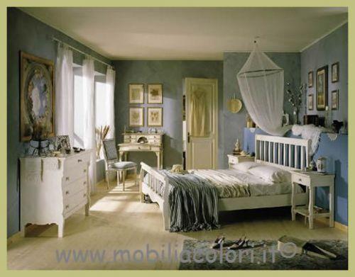 Mobili a colori mobili in vero legno per arredamenti arredamento varese - Camera da letto country chic ...