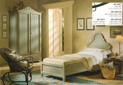 Soleecolore catalogo mobili in arte povera arredamento for Camera da letto arte povera