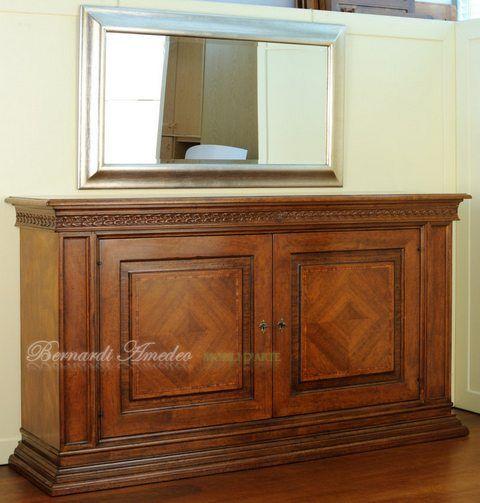 Produzione artigianale e vendita di mobili in legno for Produzione mobili classici