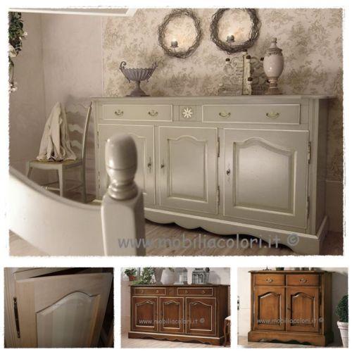 Mobili a colori mobili in vero legno per arredamenti - Mobili stile provenzale ...