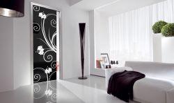 Produzione di vetrate artistiche e porte in vetro palermo agrigento trapani corleone - Porte interni palermo ...