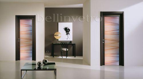 produzione di vetrate artistiche e porte in vetro palermo ... - Disegni Moderni Per Porte In Vetro