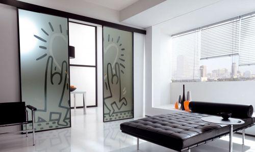 produzione di vetrate artistiche e porte in vetro palermo ... - Porte In Vetro Scorrevoli Decorate